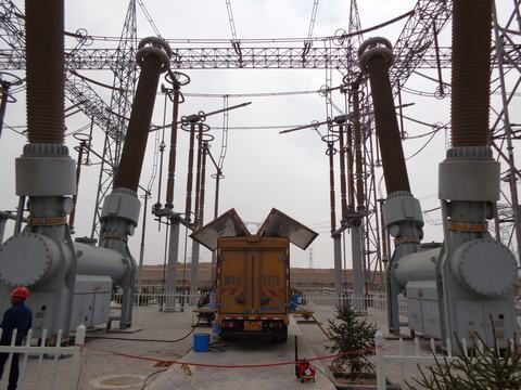 hgis 66 kv gis switchgear Treatment rental