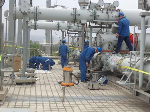 GCB Gas-Insulated-Substations device