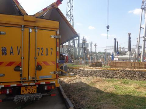 GCB high-voltage switchgears Reclamation Siemens